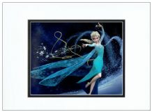 Idina Menzel Autograph Signed Photo - Frozen